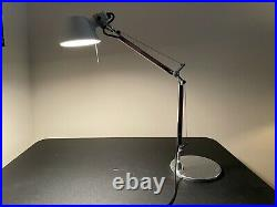 Artemide Tolomeo Micro Table Lamp by Michele de Lucchi Giancarlo Fassina Used