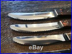 Classic Cutco #1758 Table / Steak Knives Factory Reconditioned SET OF 6