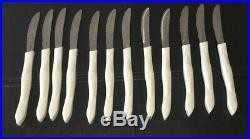 Cutco Ultimate Knife Set WithTable Knives Pearl Handle 32 Piece Set WithBlock EUC