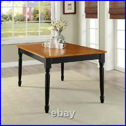 DINING TABLE Wood Kitchen Office Desk Modern Farmhouse Room Home Furniture Decor