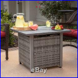 Fire Pit Table Backyard Gas Outdoor Propane Patio Heater Deck Free Shipping New