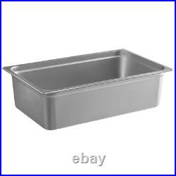 Full Size 6 Deep Stainless Steel Steam Prep Table Kitchen Hotel Buffet Food Pan
