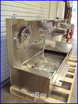 Jewett SMS Southern Medical SR1910 Dissecting Sink Autopsy Table Stainless Steel