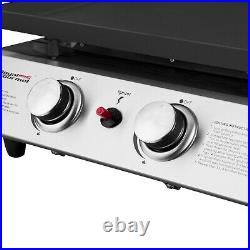 PICK UP ONLY IN GARoyal Gourmet BBQ Propane Grill 2 Burner Portable PD1201