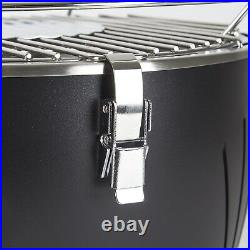 Portable Outdoor Charcoal BBQ Grill with Fan for fast heat Table Top Grill