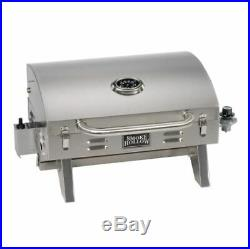 Portable Outdoor Gas Grill Table Top Countertop BBQ Camping RV Boat Food Propane