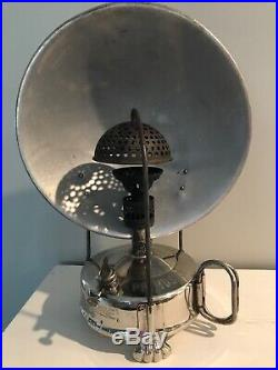 Vintage Primus No 110 Table Heater Camp Stove-missing Control Stem